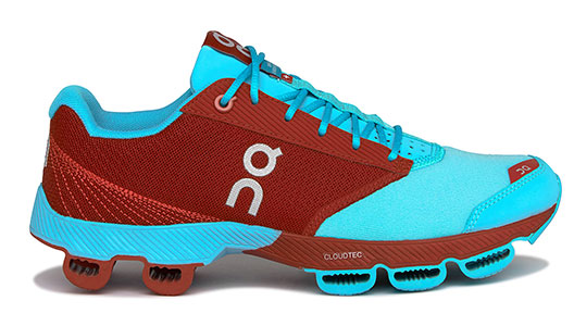 SCARPA RUNNING ON CLOUDSTER WOMEN CHILI & CURACAO 2016 SIDE.jpg