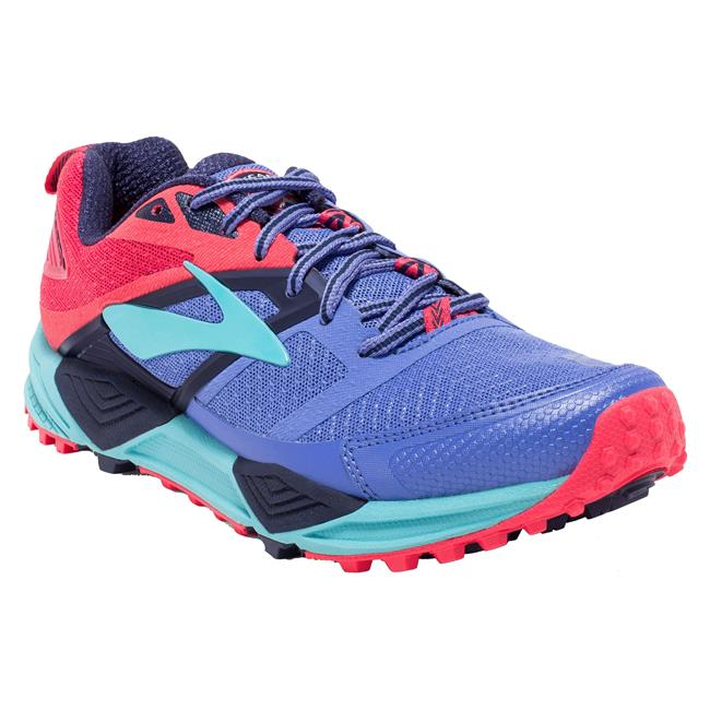 SCARPA TRAIL RUNNING BROOKS CASCADIA 12 WOMEN blue pink 422.jpg