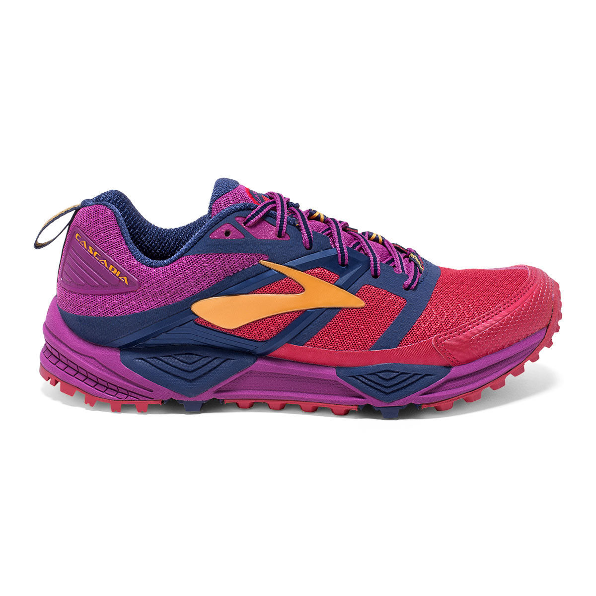 SCARPA TRAIL RUNNING BROOKS CASCADIA 12 WOMEN red peacoat 644.jpg