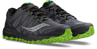 SCARPA TRAIL RUNNING SAUCONY PEREGRINE 7 MEN S20359 black grey lime.png