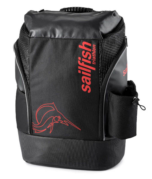 ZAINO SAILFISH BACKPACK CAPE TOWN BLACK RED .jpg