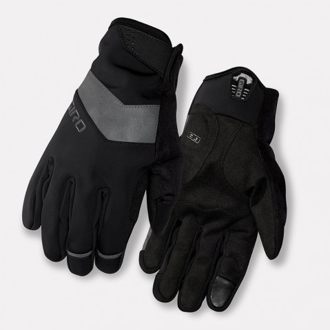 guanti ciclismo invernali GIRO AMBIENT black GR765