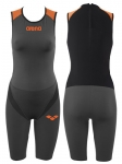 BODY TRIATHLON ARENA W'S TRISUIT CARBON PRO BACK ZIPPER 1A561 53 DARK GREY BLACK