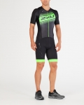 BODY 2XU MEN'S COMPRESSION FULL ZIP SLEEVED TRISUIT MT4838d black green logo.jpg