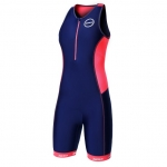 BODY TRIATHLON ZONE3 AQUAFLO+  WOMEN'S TRISUIT 2016 navy coral.jpg