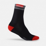 CALZA DA CICLISMO GIRO MERINO WINTER WOOL SOCK black red GR802.jpg