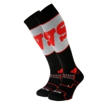 CALZA DA SCI BV SPORT SLIDE ELITE COMPRESSIONE EVOLUTION SOCKS black red.jpg
