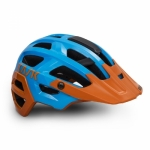 CASCO DA CICLISMO MTB KASK REX LIGHT BLUE ORANGE.jpg