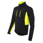 GIACCA CICLISMO PEARL IZUMI MEN'S ELITE ESCAPE SOFTSHELL JACKET black yellow.jpg