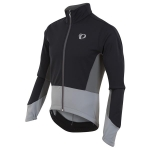 GIACCA CICLISMO PEARL IZUMI MEN'S ELITE PURSUIT SOFTSHELL JACKET BLACK GREY.jpg
