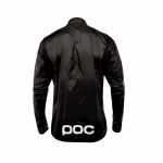 GIACCA CICLISMO POC ESSENTIAL ROAD WIND JACKET 58010 BLACK BACK.jpg