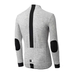 MAGLIA CICLISMO PEdALED KAIDO JERSEY LONG SLEEVE grey back view.jpg