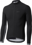 MAGLIA CICLISMO PEdALED KOBE THERMO JERSEY black WHITE single view.jpg