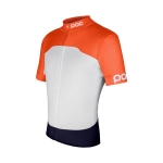 MAGLIA CICLISMO POC AVIP PRINTED LIGHT JERSEY MEN 53160 ORANGE.jpg