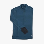 MAGLIA ON RUNNING MEN'S WEATHER SHIRT NAVY.jpg