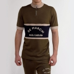 MAGLIA VINTAGE DE MARCHI NIGEL CABOURN ZIP WOOL KNITTED JERSEY ARMY94.jpg
