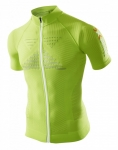 MAGLIA X-BIONIC EFFEKTOR BIKING POWERSHIRT SS FULL ZIP O020601 GREEN.jpg