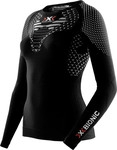 MAGLIA X-BIONIC RUNNING TWYCE LADY SHIRT LONG BLACK-WHITE O100597