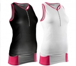 MAGLIA TRIATHLON COMPRESSPORT TR3 TRIATHLON AERO TANK WOMEN