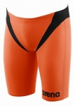 PANTALONCINO TRIATHLON ARENA MAN TRIJAMMER CARBON PRO 1A566 35 ORANGE BLACK.jpg