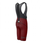 SALOPETTE CICLISMO PEdALED NATSU BIBSHORT BORDEAUX rear view.jpg