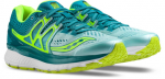 SCARPA RUNNING SAUCONY HURRICANE ISO 3 WOMEN S10348 citron teal.png