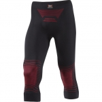 PANTALONE X-BIONIC ENERGIZER MK2 PANTS MEDIUM I020280 black red