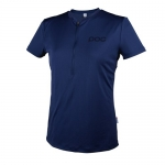 MAGLIA CICLISMO POC TRAIL LIGHT ZIP WO TEE 52157 BORON BLUE