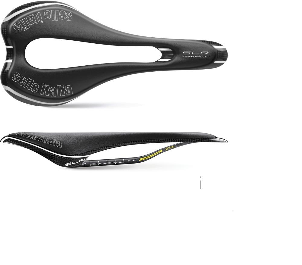 Black Selle Italia SLR Tekno Flow Saddle