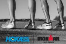HOKA ONE ONE est la chaussure officielle de IRONMAN Europe et Amérique du Nord