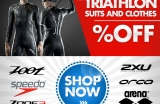 OFFER Triathlon Wetsuits, Triathlon clothing and accessories for sale at discounted prices