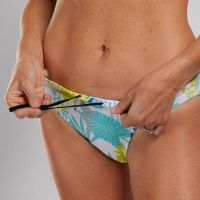 ZOOT WOMENS LTD SWIM BIKINI BOTTOM - SALTY