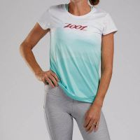 ZOOT WOMENS LTD RUNNING TEE- NORTHWEST