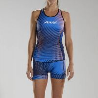 ZOOT WOMEN'S LTD SWEATER TRI RACERBACK STOKE