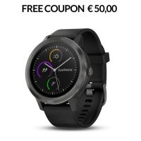MULTISPORT GPS WATCH GARMIN VIVOACTIVE3 010-01769