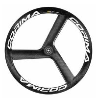 CORIMA 3 SPOKE TUBULAR WHEELS WHEELS FOR DISC BRAKES