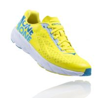 RUNNING SHOE HOKA ONE ONE TRACER MEN CHERRY TOMATO ACID