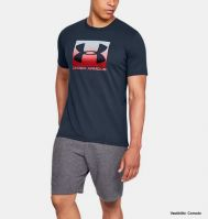 SHORT SLEEVE T-SHIRT UNDER ARMOR BOXED SPORTSTYLE M'S 1329581