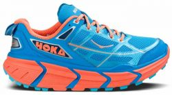 TRAIL RUNNING SHOE HOKA WOMEN CHALLENGER ATR BLUE/CORAL
