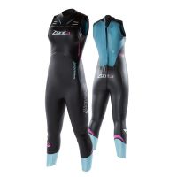 TRIATHLON WETSUIT WOMEN's SLEEVELESS ZONE3 VISION